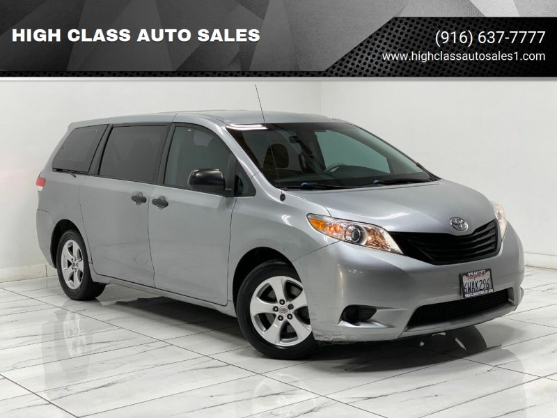 2011 Toyota Sienna for sale at HIGH CLASS AUTO SALES in Rancho Cordova CA