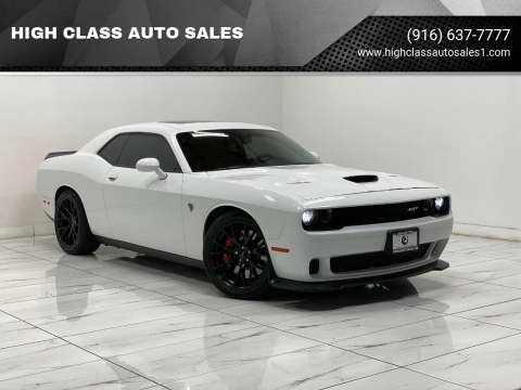 2016 Dodge Challenger for sale at HIGH CLASS AUTO SALES in Rancho Cordova CA