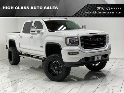 2016 GMC Sierra 1500 for sale at HIGH CLASS AUTO SALES in Rancho Cordova CA