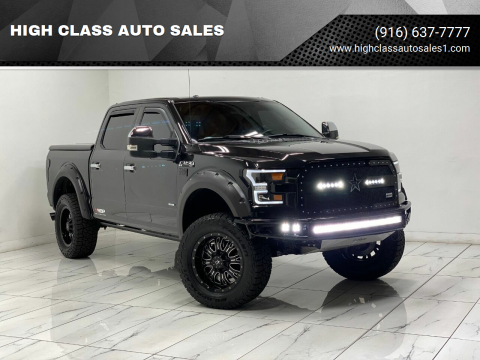 2015 Ford F-150 for sale at HIGH CLASS AUTO SALES in Rancho Cordova CA