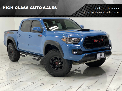 2018 Toyota Tacoma for sale at HIGH CLASS AUTO SALES in Rancho Cordova CA
