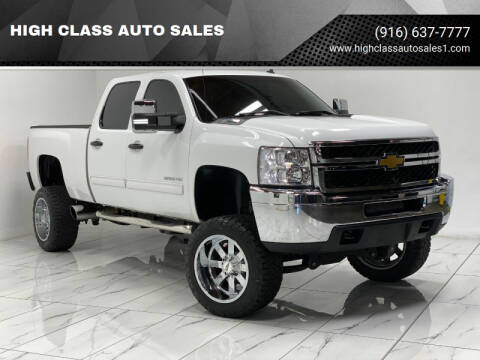 2014 Chevrolet Silverado 2500HD for sale at HIGH CLASS AUTO SALES in Rancho Cordova CA