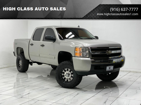 2007 Chevrolet Silverado 1500 for sale at HIGH CLASS AUTO SALES in Rancho Cordova CA