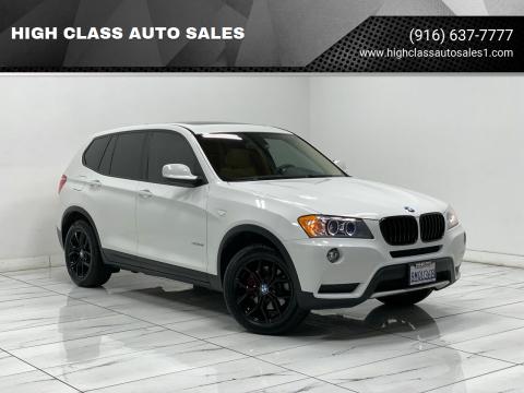 2014 BMW X3 for sale at HIGH CLASS AUTO SALES in Rancho Cordova CA