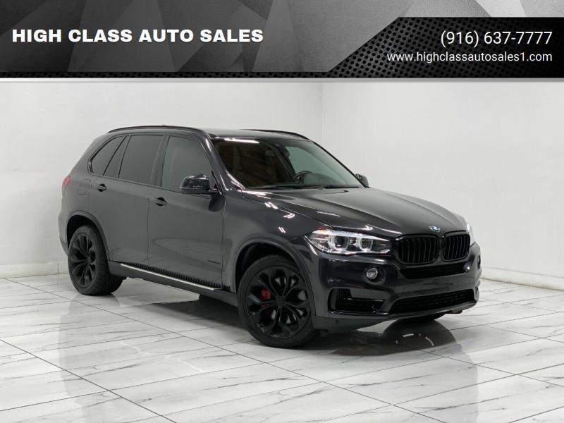 2014 BMW X5 for sale at HIGH CLASS AUTO SALES in Rancho Cordova CA