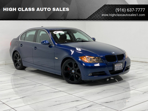 2006 BMW 3 Series for sale at HIGH CLASS AUTO SALES in Rancho Cordova CA