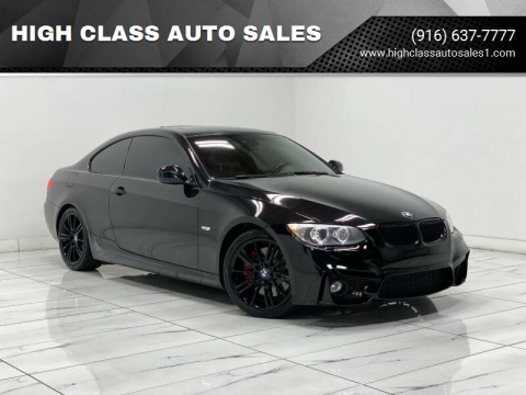 2011 BMW 3 Series for sale at HIGH CLASS AUTO SALES in Rancho Cordova CA