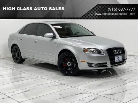 2006 Audi A4 for sale at HIGH CLASS AUTO SALES in Rancho Cordova CA