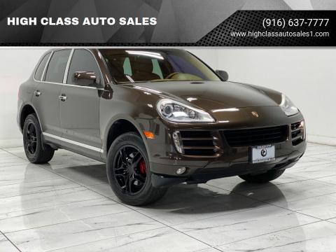 2009 Porsche Cayenne for sale at HIGH CLASS AUTO SALES in Rancho Cordova CA