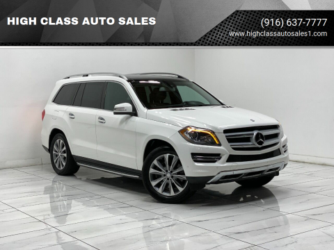 2014 Mercedes-Benz GL-Class for sale at HIGH CLASS AUTO SALES in Rancho Cordova CA
