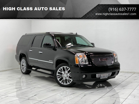 2013 GMC Yukon XL for sale at HIGH CLASS AUTO SALES in Rancho Cordova CA
