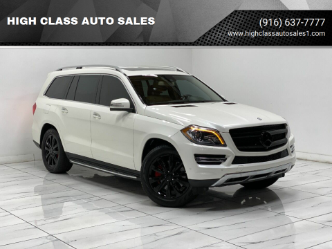 2013 Mercedes-Benz GL-Class for sale at HIGH CLASS AUTO SALES in Rancho Cordova CA