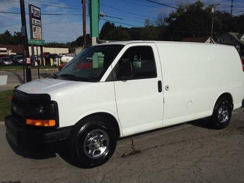 2005 Chevrolet Express Cargo for sale at Blackhawk Motors LLC in Beaver Falls PA