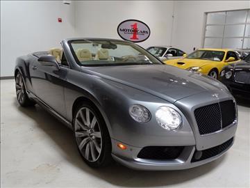2013 Bentley Continental GTC V8 for sale in Atlanta, GA