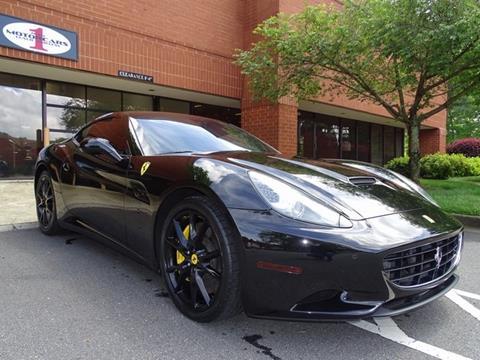 2011 Ferrari California for sale in Marietta, GA