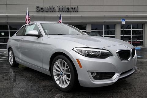 2015 BMW 2 Series for sale in Miami, FL