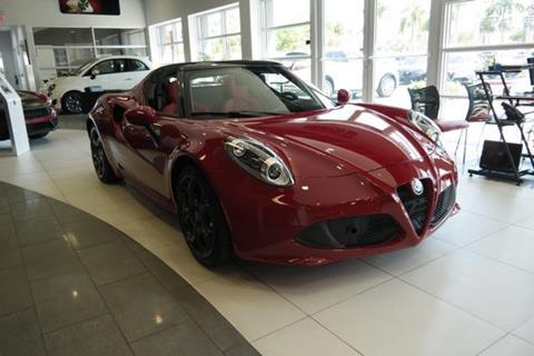 2019 Alfa Romeo 4C for sale in Miami, FL