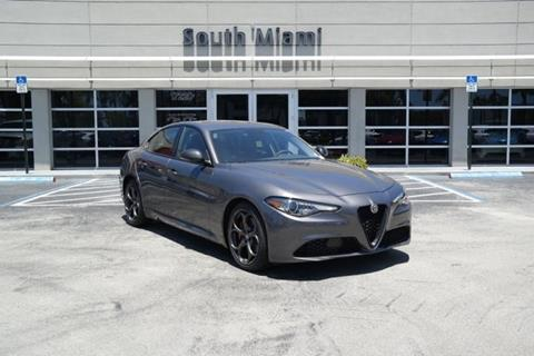 2019 Alfa Romeo Giulia for sale in Miami, FL