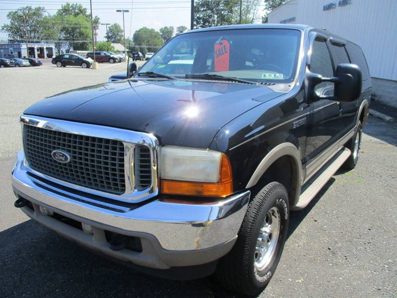 2001 Ford Excursion Limited 4WD 4dr SUV - Gilbertsville PA