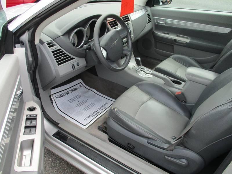 2008 Chrysler Sebring Touring 2dr Convertible - Gilbertsville PA