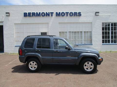 2002 Jeep Liberty for sale in Gilbertsville, PA