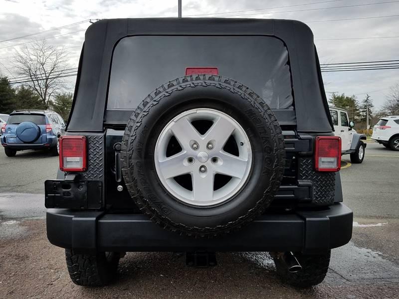 2007 Jeep Wrangler Unlimited 4x4 Rubicon 4dr SUV - Gilbertsville PA
