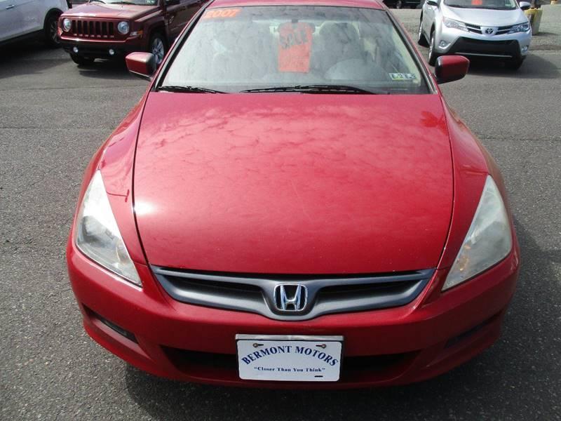 2007 Honda Accord EX-L 2dr Coupe (2.4L I4 5A) - Gilbertsville PA