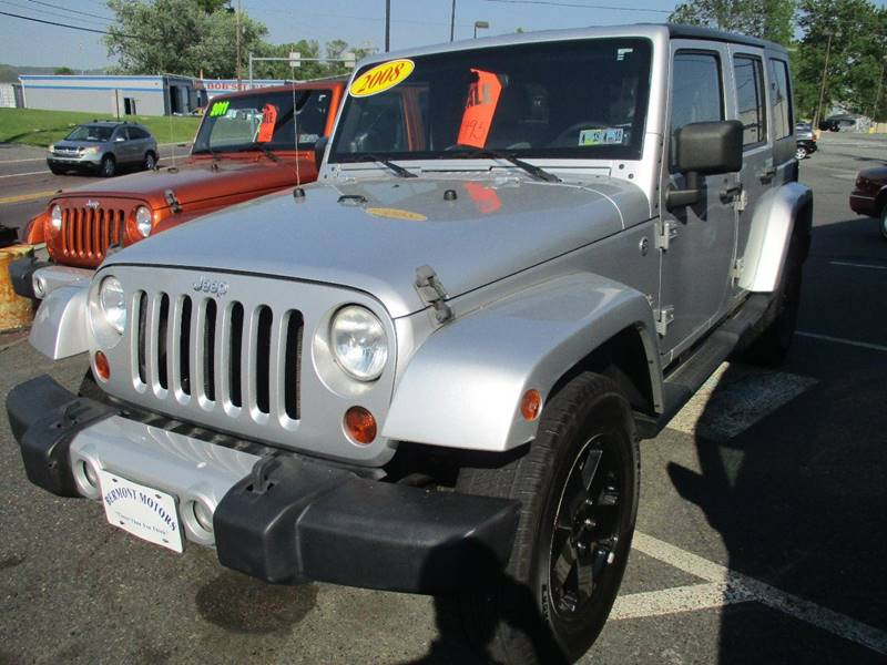 2008 Jeep Wrangler Unlimited 4x4 Sahara 4dr SUV - Gilbertsville PA