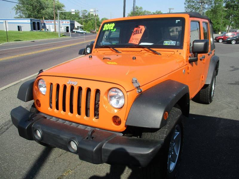 2012 Jeep Wrangler Unlimited 4x4 Sport 4dr SUV - Gilbertsville PA