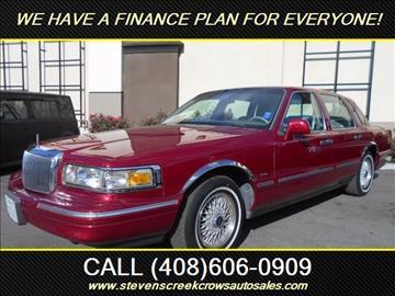 1995 Lincoln Town Car for sale in Santa Clara, CA
