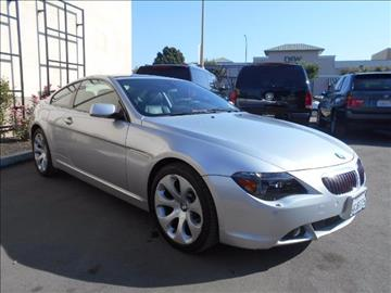 2005 BMW 6 Series for sale in Santa Clara, CA