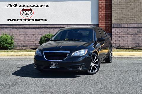 2012 Chrysler 200 for sale in Fredericksburg, VA