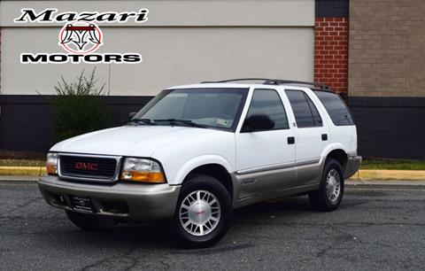 2001 GMC Jimmy for sale in Fredericksburg, VA