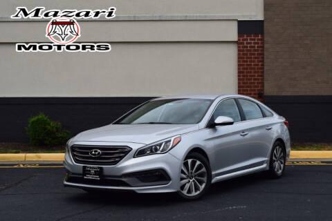 2015 Hyundai Sonata for sale at Mazari Motors in Fredericksburg VA