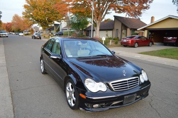 rwd detail mercedes benz c sport one sedan class at used