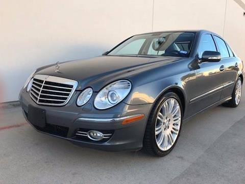 2008 Mercedes-Benz E-Class for sale at CARS ICON INC in Houston TX