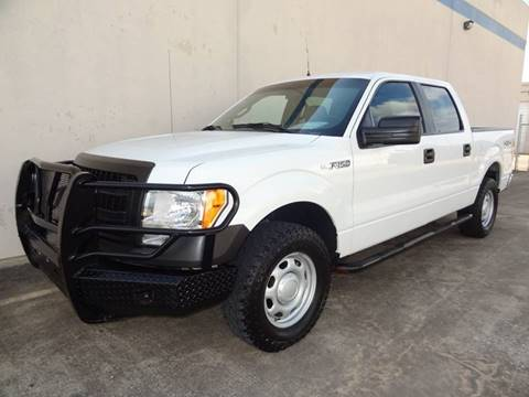 2013 Ford F-150 for sale at CARS ICON INC in Houston TX