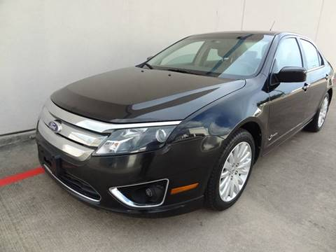 2010 Ford Fusion Hybrid for sale at CARS ICON INC in Houston TX