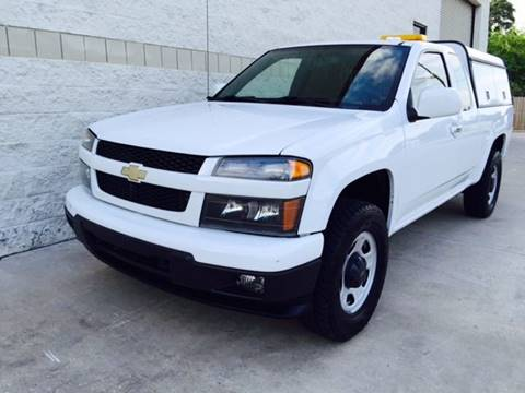2011 Chevrolet Colorado for sale at CARS ICON INC in Houston TX