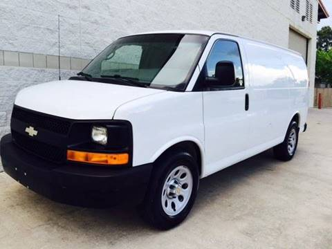2012 Chevrolet Express Cargo for sale at CARS ICON INC in Rosenberg TX