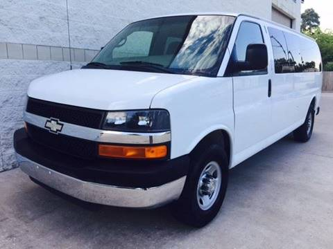 2008 Chevrolet Express Passenger for sale at CARS ICON INC in Rosenberg TX
