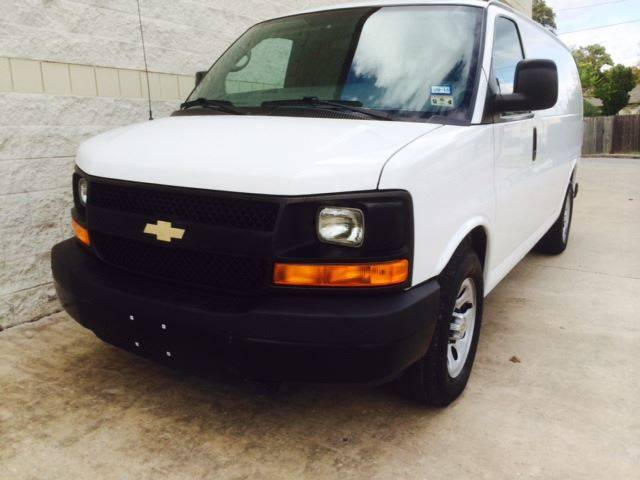 2012 Chevrolet Express Cargo for sale at CARS ICON INC in Houston TX