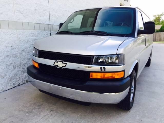 2009 Chevrolet Express Passenger for sale at CARS ICON INC in Rosenberg TX