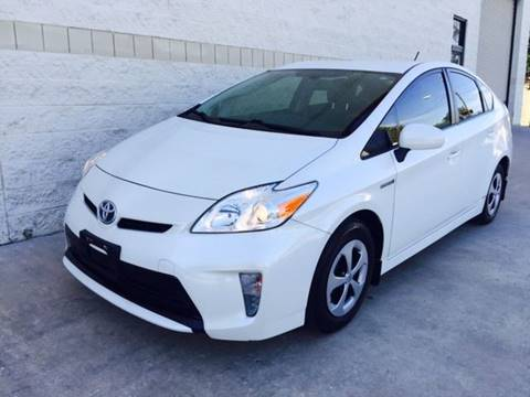 2013 Toyota Prius for sale at CARS ICON INC in Houston TX