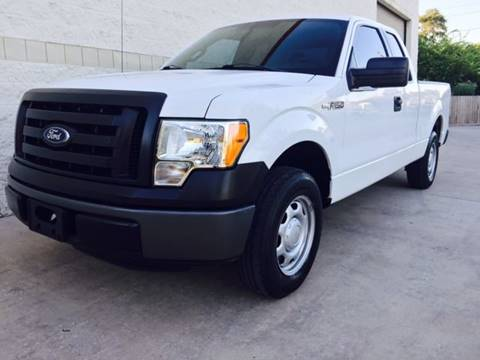 2012 Ford F-150 for sale at CARS ICON INC in Houston TX