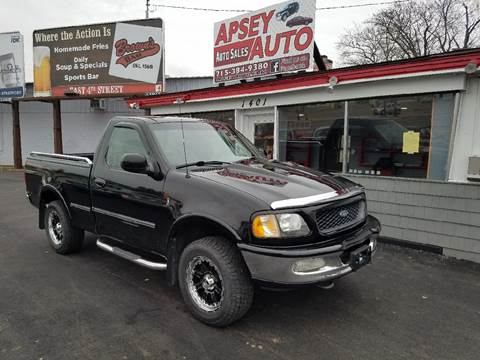 1998 Ford F-150 for sale at Apsey Auto in Marshfield WI