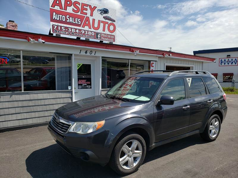 2010 Subaru Forester for sale at Apsey Auto 2 in Marshfield WI