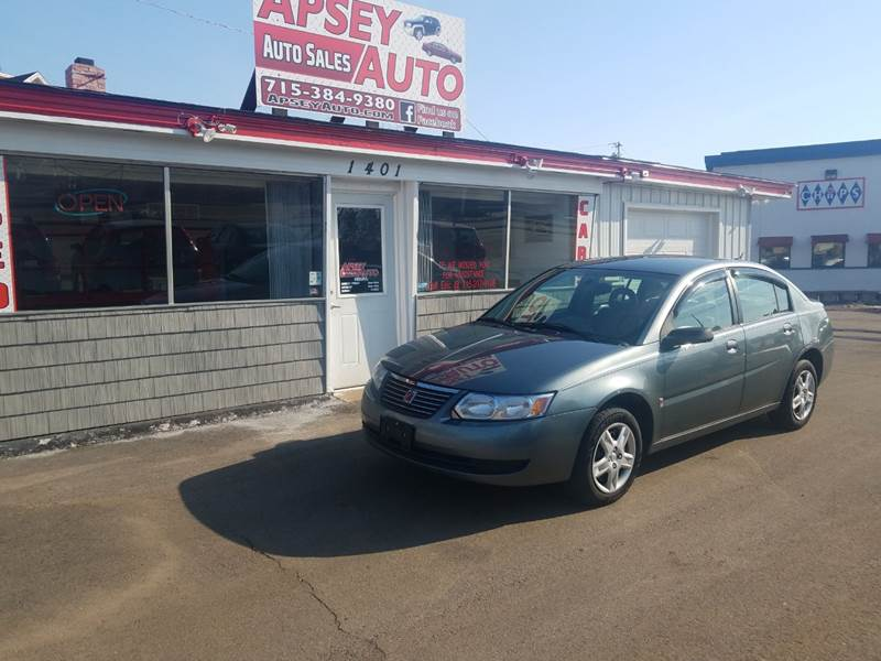 2007 Saturn Ion 2 4dr Sedan 5M - Marshfield WI
