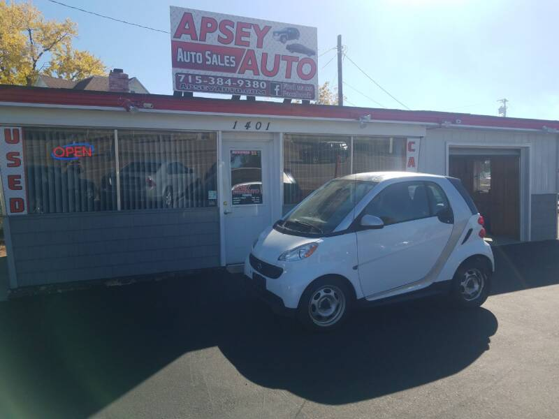 2013 Smart fortwo passion 2dr Hatchback - Marshfield WI