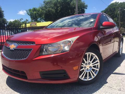 2011 Chevrolet Cruze for sale at LUXURY AUTO MALL in Tampa FL